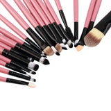 Professional New set of 20 pieces brushes pack complete make-up brushes New Arrival - Shop4Dancer