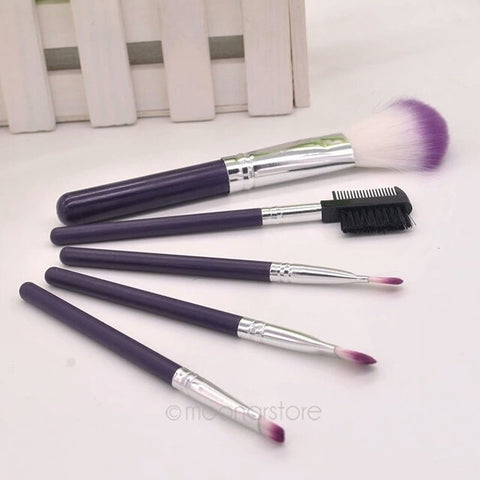 5pcs Makeup Brushes Sets & Kit Cosmetics Make Up Brushes Beauty Tools Accessories Brush - Shop4Dancer