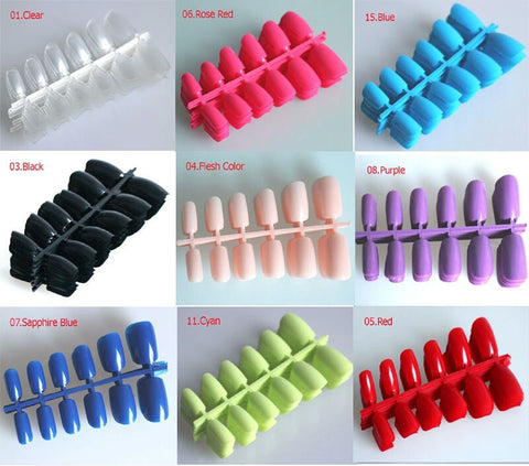 120pcs Short Designs Fake Nails | Full Cover False Acrylic Nails | Artificial Design Tips