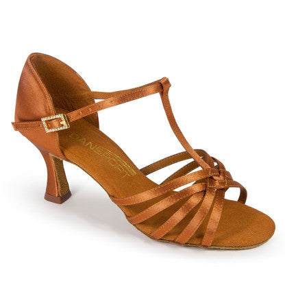 L3005 - TAN SATIN - Shop4Dancer