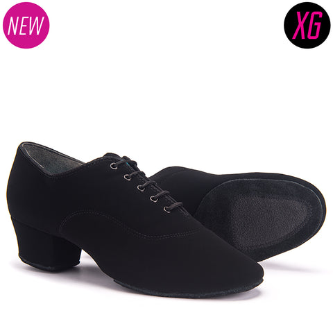 RUMBA - BLACK NUBUCK - Shop4Dancer