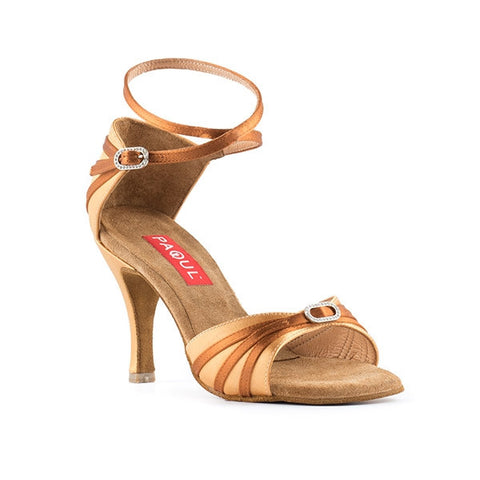 Style 153 | Tan Satin -  Flesh Satin - Shop4Dancer