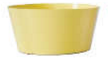 Dish Garden Asst. 2044, Yellow (Pack of 18)