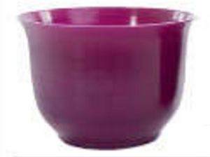 Small Spun Planter, Purple (Pack of 18) - ifloral.com