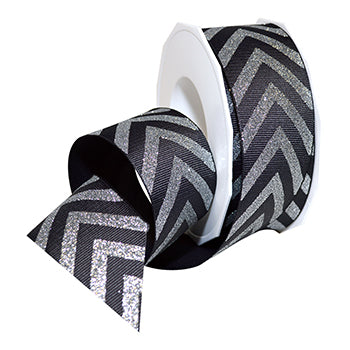 #2220 Chevron Elite (Grosgrain) Ribbon - ifloral.com