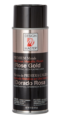 Rose Gold 241 Design Master PREMIUM METALS