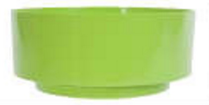 Design Bowl, Lime Green (Pack of 12)