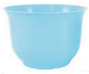 Large Spun Planter, Turquoise (Pack of 12) - ifloral.com