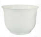 Large Spun Planter, White (Pack of 12) - ifloral.com