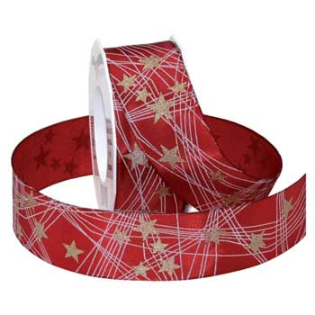 #368 Stars (wired) Ribbon - ifloral.com