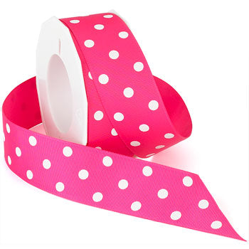 #3908 Grosgrain Dots Ribbon - ifloral.com