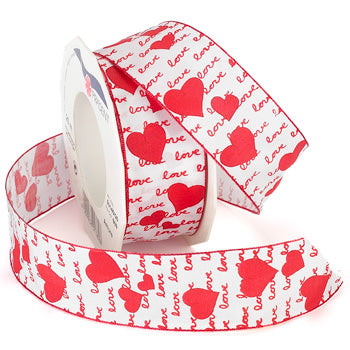 #501 Amore (wired) Ribbon - ifloral.com
