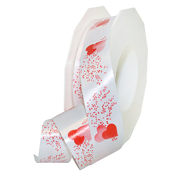 #596 Honeymoon (printed polypro) Ribbon - ifloral.com