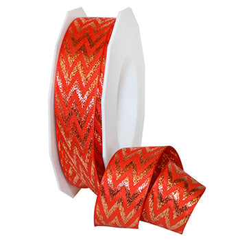 #652 Chevron Ribbon - ifloral.com
