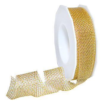 #689 Zermatt (metallic) Ribbon - ifloral.com