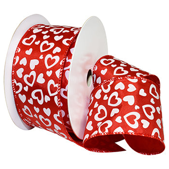 #7103 Heart Throb (wired) Ribbon - ifloral.com