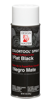Flat Black 725 Design Master COLORTOOL® SPRAY