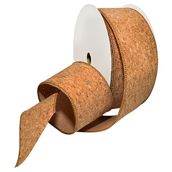 #7336 Corky (wired cork) Ribbon - ifloral.com
