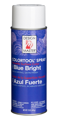 Blue Bright 744 Design Master COLORTOOL® SPRAY