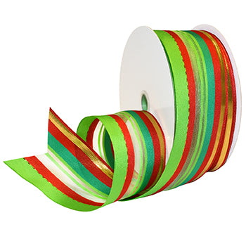 #7488 Deco Holiday (wired) Ribbon - ifloral.com