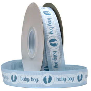 #7502 New baby (glittered grosgrain) Ribbon - ifloral.com