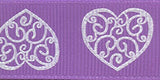 #7516 Lace Heart Ribbon - ifloral.com