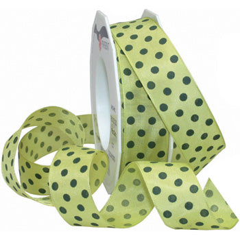 #760 Colour Dots Ribbon - ifloral.com