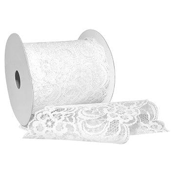 #7636 Chantilly (lace) Ribbon - ifloral.com