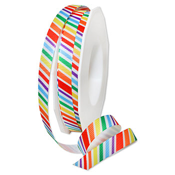 #8646 Deco Rainbow Ribbon - ifloral.com