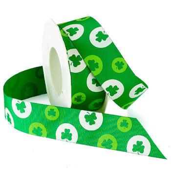 #942 Lucky Shamrock Ribbon - ifloral.com