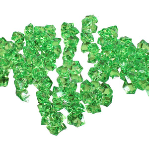 Apple green acrylic vase filler gems, 1lb Bag - ifloral.com
