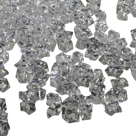 Clear acrylic vase filler gems, 1lb Bag - ifloral.com