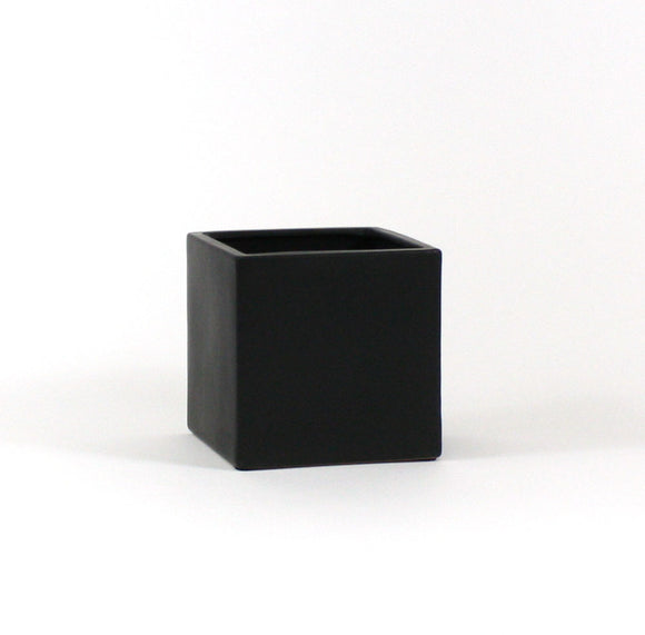 Black Square Cube - Open: 6.5