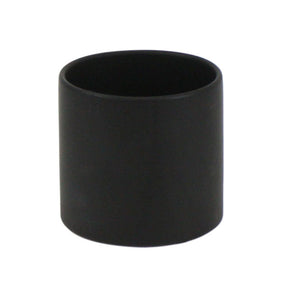 "Black Cylinder Ceramic - Open:6.5"", Height: 6"""