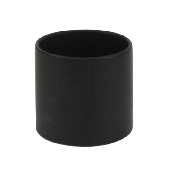 Black Cylinder Ceramic - Open:6.5