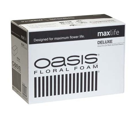 OASIS® Deluxe Floral Foam Maxlife, 48 bricks per case