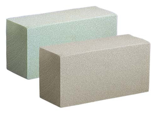 SAHARA® II Dry Foam Brick, Brown, 20/case - ifloral.com