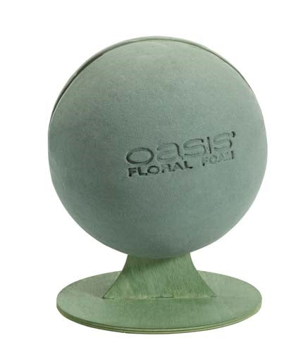 OASIS® Sphere with Stand, 1 pack - ifloral.com