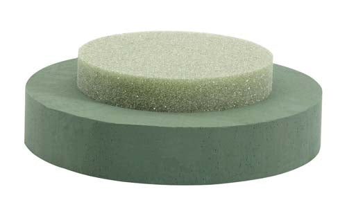 OASIS® Floral Foam Riser, Round, 6/case - ifloral.com