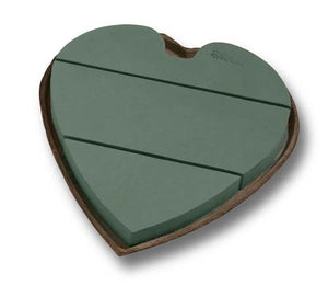 "12"" OASIS® Mache Solid Heart, 4/case - ifloral.com"
