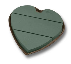 "18"" OASIS® Mache Solid Heart, 4/case - ifloral.com"