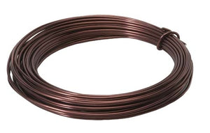 OASIS™ Aluminum Wire, Brown, 10/case - ifloral.com