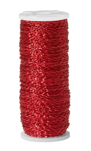 OASIS™ Bullion Wire, Red, 1 pack - ifloral.com
