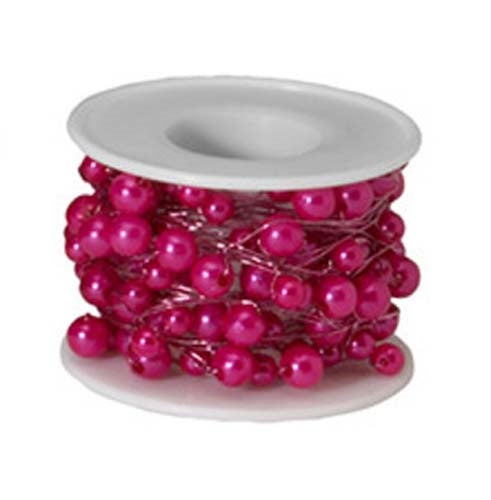 OASIS™ Beaded Wire, Strong Pink, 1 pack - ifloral.com