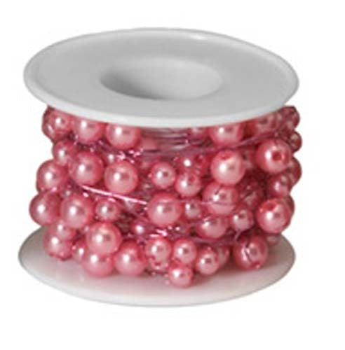 OASIS™ Beaded Wire, Pink, 10/case - ifloral.com