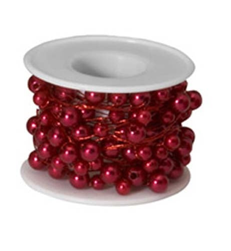 OASIS™ Beaded Wire, Red, 10/case - ifloral.com
