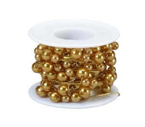 OASIS™ Beaded Wire, Gold, 10/case - ifloral.com