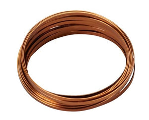 "3/16"" OASIS™ Flat Wire, Copper, 1 pack - ifloral.com"