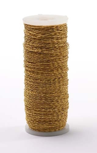 OASIS™ Bullion Wire, Gold, 18/case - ifloral.com