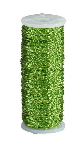 OASIS™ Bullion Wire, Apple Green, 1 pack - ifloral.com